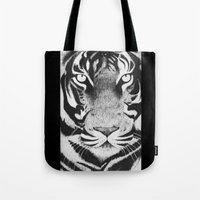 Be a Tiger Tote Bag