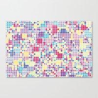 Fun Pattern Canvas Print