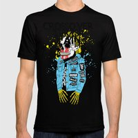 Crossover  Mens Fitted Tee Black SMALL