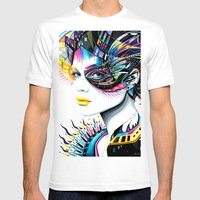 -In my Mind- Mens Fitted Tee White SMALL