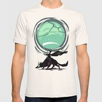 Little Reaper Mens Fitted Tee Natural SMALL