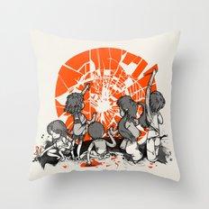 We'll help you rise again Throw Pillow