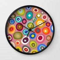 freckle spot blush Wall Clock