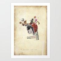 BeefEater Art Print