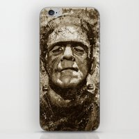 The Creature - Sepia Ver… iPhone & iPod Skin