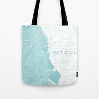 WE LOVE SF Tote Bag