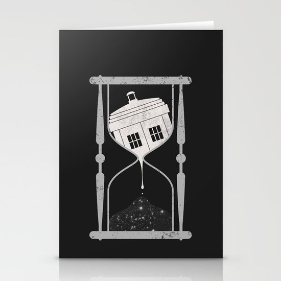 Spacetime Stationery Card