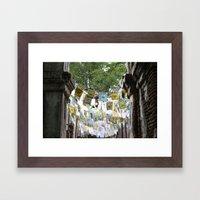Color Pop Framed Art Print