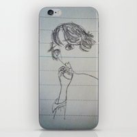 self-portrait iPhone & iPod Skin