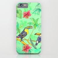 Watercolour Toucans iPhone 6 Slim Case