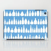 Bottles Blue iPad Case