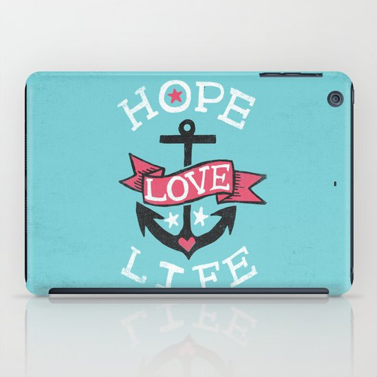HOPE LOVE LIFE - ANCHOR iPad Case