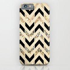 Black & Gold Glitter Her… iPhone 6 Slim Case