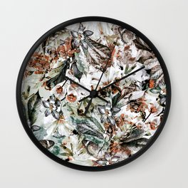 Wall Clock - Orchidaceae - VS Fashion Studio