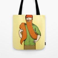Mr. McBeardy Tote Bag