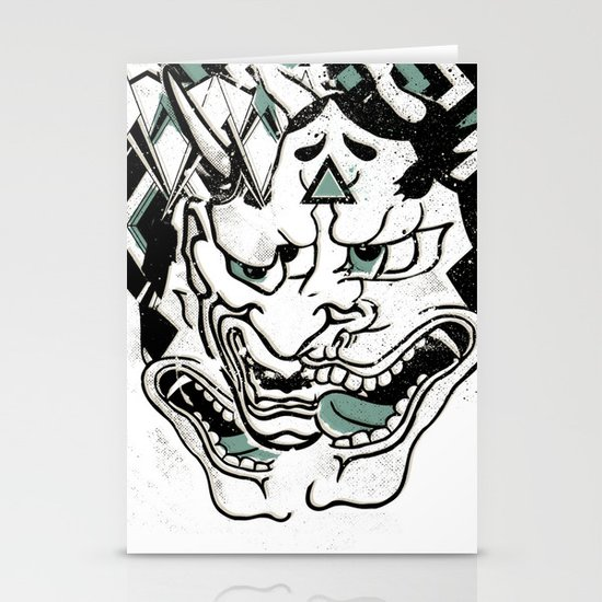 Oni Stationery Card