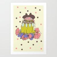 You Monster Art Print