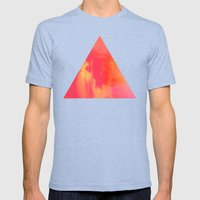 Acid Sun Mens Fitted Tee Tri-Blue SMALL