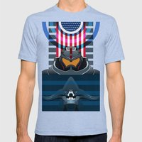 Pacific Rim, Jaws edition Mens Fitted Tee Tri-Blue SMALL