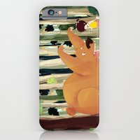 Meeting With Teddy Bear iPhone 6 Slim Case