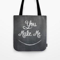 You Make Me Smile - Chalkboard Tote Bag