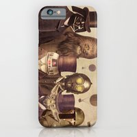 portrait iPhone & iPod Cases featuring Victorian Wars  by Terry Fan