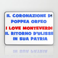 I love Monteverdi Laptop & iPad Skin