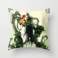 One Last Kiss Throw Pillow