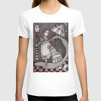 snow T-shirts featuring Alice's First Snow by Judith Clay