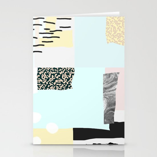 On the wall#4 Stationery Card