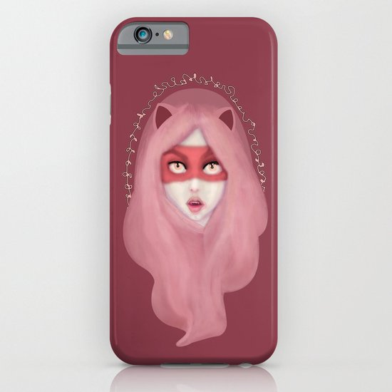 kitty.pink.power iPhone & iPod Case
