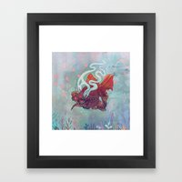 Ocean Jewel Framed Art Print
