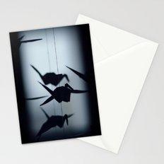 Origami crane Stationery Cards