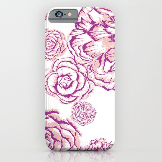 Bloom - Pink iPhone & iPod Case