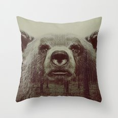 Bjørn Throw Pillow