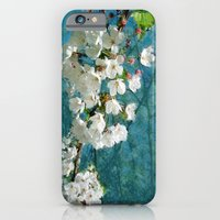 iPhone & iPod Case featuring Blossom Textured by Elizabeth Wilson Photography