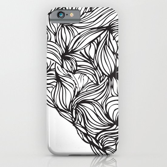Hairy Heart  iPhone & iPod Case