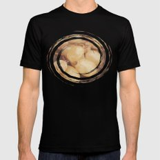 White Muscat Grapes Black SMALL Mens Fitted Tee