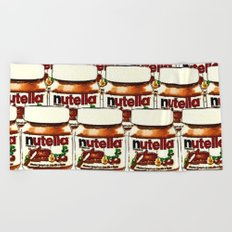 Nutella-263 Beach Towel