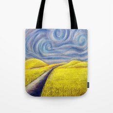 Le Wheat Field Tote Bag