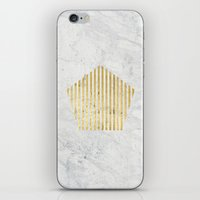 penta gOld iPhone & iPod Skin