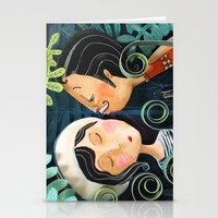 Kiss Good Night Stationery Cards