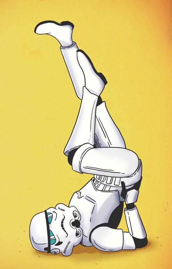 Trooper Pinup Art Print
