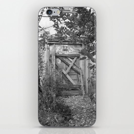 "Door to the deep down ""LIME"" iPhone & iPod Skin"