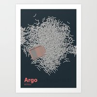 Argo - Minmal Poster Art Print