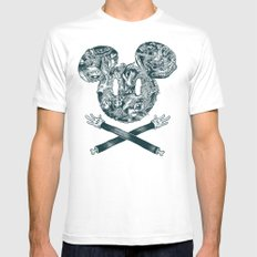 The Mouse Mens Fitted Tee White SMALL
