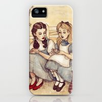 iPhone 5s & iPhone 5 Cases featuring Dorothy and Alice by Helen Green