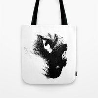 Rorchach Cat Tote Bag