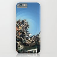 iPhone & iPod Case featuring Spinning City by Graham Ferguson