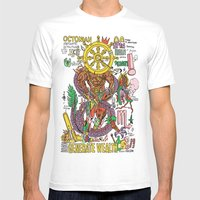 Magic 8 Mens Fitted Tee White SMALL